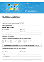 Application Form Example